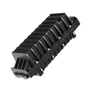 FIBERHOME/烽火通信 束状双端光缆接头盒(胶泥密封) 144芯 1个