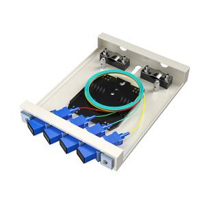 FIBERHOME/烽火通信 金属室内壁挂式终端盒 4芯-4口 SC满配 1个