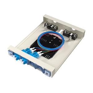 FIBERHOME/烽火通信 金属室内壁挂式终端盒 4芯-4口 LC满配 1个