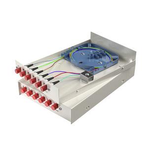 FIBERHOME/烽火通信 金属室内壁挂式终端盒 6芯-6口 FC满配 1个