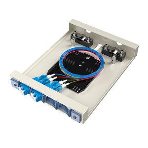 FIBERHOME/烽火通信 金属室内壁挂式终端盒 8芯-4口 LC满配 1个