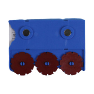 BLUEGIANT/蓝巨人塑业 磁性材料卡(强磁款) 75*55mm 蓝色 3位数拨盘 1个