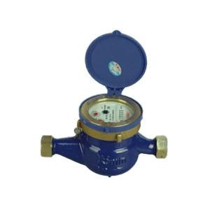 YOMTEY/粤镁特 铁壳丝扣旋翼湿式冷水表 LXS-E DN25 最大允许读数99999 1个