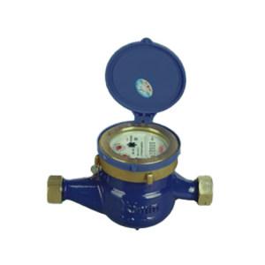 YOMTEY/粤镁特 铁壳丝扣旋翼湿式热水表 LXSR-E DN40 最大允许读数999999 1个