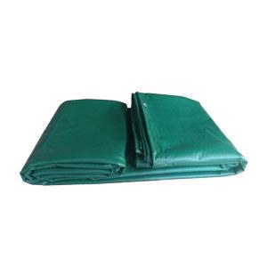 JINANXING/锦安行 PVC防雨布 JCH-FYB-028 10×12m 军绿色 450±30g/m2 1张