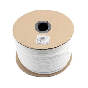 GC/国产 线号机PVC套管 SB-FMZ-4.0 白色 长约56m 内径5.2mm 适用导线孔径5.1~5.3mm 1卷