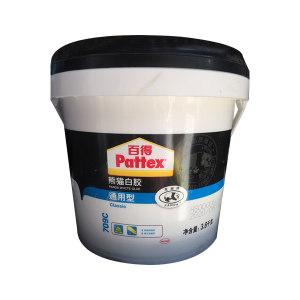 PATTEX/百得 熊猫白胶通用型 709C 3.8kg 1桶
