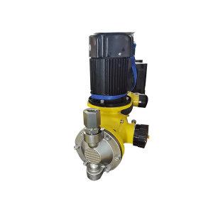 CNP/南方泵业 隔膜计量泵 GM0090SP7MNN 最大流量85L/h 进出口口径DN15 最大工作压力7bar 316不锈钢泵头 370W 1台