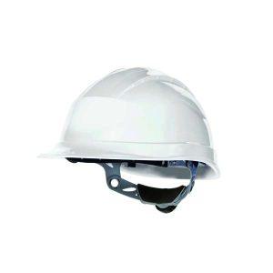 DELTA/代尔塔 QUARTZ3系列PP安全帽 102008 白色(BC) 8点式织物内衬 不含下颏带 1顶