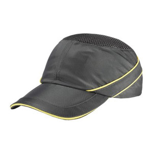DELTA/代尔塔 COLTAN轻型防撞安全帽 102110 灰色(GR) 7cm帽檐 1顶