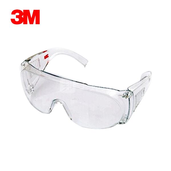 3M 访客用防护眼镜 1611HC 防刮擦 1副