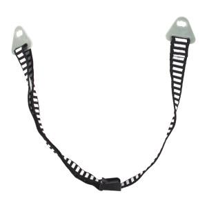 MSA/梅思安 D型下颏带 9100008-SP 挂片式 与帽衬连接 日字扣调节 1根