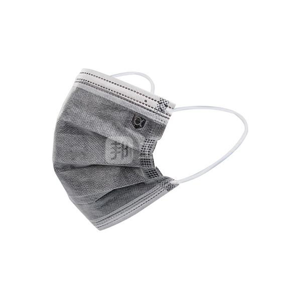 AIWIN 一次性活性炭防护口罩(电商版) 103012 灰白色 耳戴式 50只 1盒