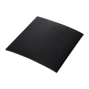 KUKE/酷珂 平面橡胶绝缘地垫 QY-8mm黑 1×10m 1个