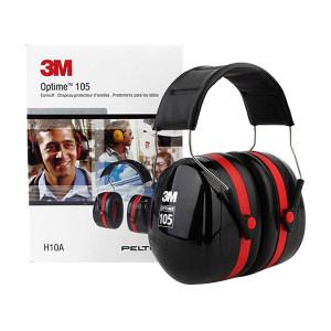 3M OPTIME105系列头戴式耳罩 H10A NRR/SNR:30/35dB 1副