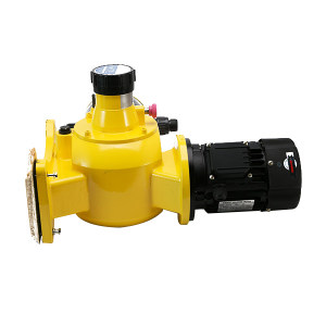 AILIPU/爱力浦 计量泵 JZM-A237-1S 最大流量3.95L/min 进口出口口径DN15 最大工作压力10bar PVC泵头 550W 380V 普通电机不锈钢阀球 1台