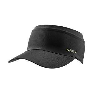 AIRIN/空因 科技冷感遮阳帽 AU201PE2000302 墨黑色 均码 转印标 1顶