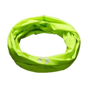 AIRIN/空因 科技冷感多功能头巾 AU201PE3000104 荧光黄 25×50cm 烫银 1条