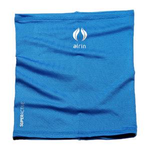 AIRIN/空因 科技冷感围脖 AU201PE4000101 海蓝色 23×26.5cm 烫银 1条
