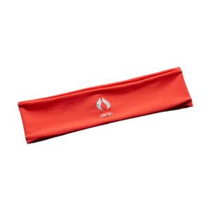 AIRIN/空因 科技冷感运动头带 AU201PE7000106 珊瑚橘 23×6cm 烫银 1条