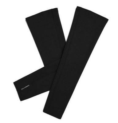 AIRIN/空因 科技冷感护臂(男款) AM201PE1000102 墨黑色 均码 烫银 1对