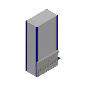 SJFRST/三极 垂直回转库 S6C4-30(500型) 尺寸3.27×1.97×6.974m 1台