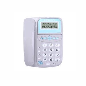 CHINO-E/中诺 有绳电话机 C028 灰色 1个