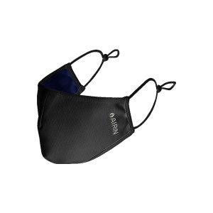 AIRIN/空因 冷感防晒口罩 AU201PE5000102 墨黑色 L/M 转印标 1个