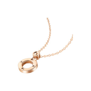 CHOWSANGSANG/周生生 薄荷系列小圆珠圆环项链 91977N-18KR-00 47cm 1条
