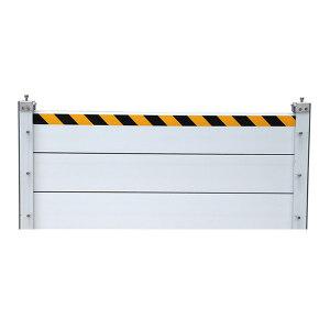 JINANXING/锦安行 铝合金挡水板 JCH-FXB-D0820 长1.46m 高600mm 挡板厚40mm 档板壁厚2mm 1个