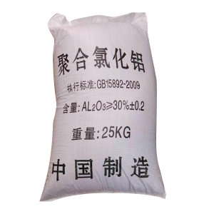 HNJS/华南净水 聚合氯化铝 30% 25kg 1袋