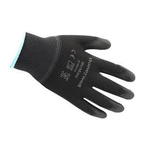 HONEYWELL/霍尼韦尔 涤纶PU涂层工作手套 2100251CN 9码 黑色 1包