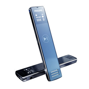 PHILIPS/飞利浦 录音笔 VTR5101  8G 银色 1支