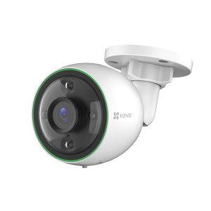EZVIZ/萤石 全彩系列高清网络摄像机(标准版) C3C 镜头焦距2.8mm 400万像素 支持POE供电 1台