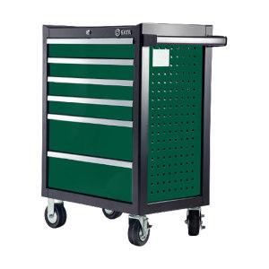SATA/世达 242件通用机修工具车组套  09932 含95126-6抽工具车 1套