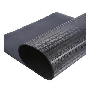 RISMAT/丽施美 特盾系列橡胶绝缘垫 TPTDT5-11-B 黑色条纹 1m×1m×5mm 10kV 1块