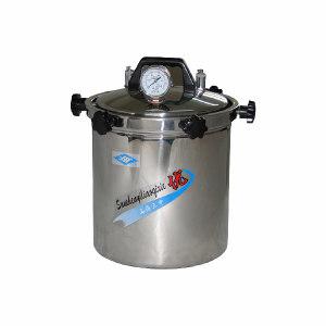 SHANGHAISANSHEN/上海三申 手提式不锈钢压力蒸汽灭菌器 YX280B 最在工作压力0.142MPa 15L 1台