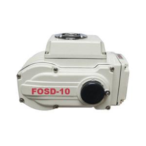 FOLS/富莱斯 电动执行器 FOSD-10 AC220V 含定位器 含控制板 25W 30S 100N·m 1台