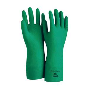 ANSELL/安思尔 SOL-VEX 抗溶剂腈胶手套 37175090 9码 1副