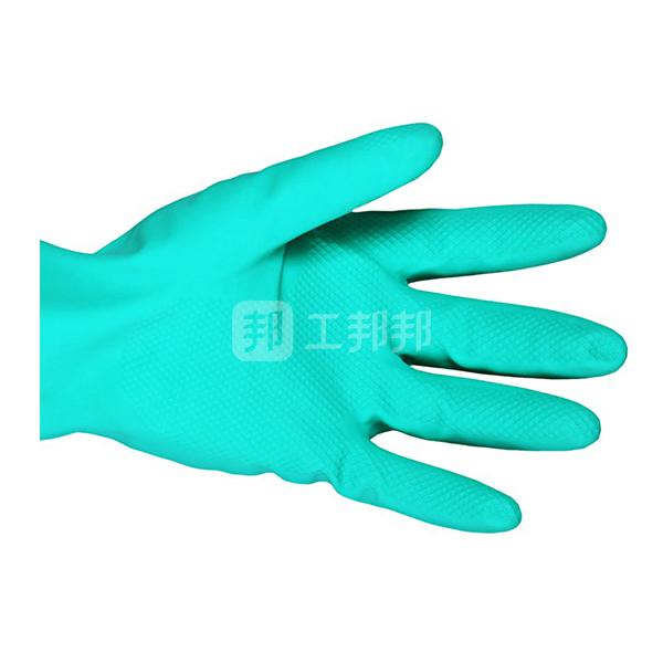 ANSELL/安思尔 SOL-VEX 抗溶剂腈胶手套 37-176 9码 1副