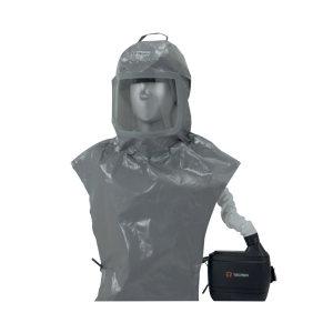 TECMEN/泰克曼 TM-H3防护头罩灰色 400202 Freflow防护套装 包含头罩+呼吸器 1套