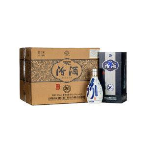 FENJIU/汾酒 53度山西汾酒杏花村青花20清香型白酒 6903431189389 500mL×6瓶 1箱