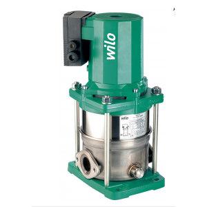 WILO/威乐 原装进口立式屏蔽多级泵 MVIS406-1/16/K/3-400-50-2 额定流量4m3/h 额定扬程49m 1.1kW 380V 2009046 1台