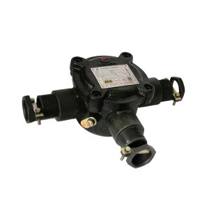 WAROM/华荣 矿用隔爆型低压电缆接线盒 BHD2-40/660-3T 270×202×110mm 1个