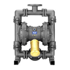 BENK 气动隔膜泵 QBY-25FGFF 最大流量3m3/h 接口DN25 最大工作压力7bar 四氟橡胶膜片 吸上高度50m 1台
