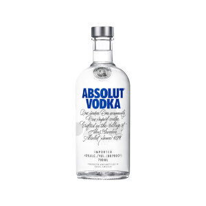 ABSOLUT VODKA/绝对伏特加 绝对伏特加(原味) 0098 700mL×12瓶 1箱