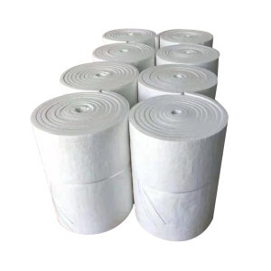 XINYUANRUI/鑫元瑞 硅酸铝针刺毯 128kg/m³-15000×1220×10mm 耐温1000℃ 推荐使用≤800℃ 1卷