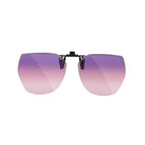 HORIEN/海俪恩 男士女士太阳眼镜(夹片) N611C20 1个