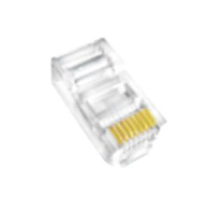 HIKVISION/海康威视 超五类水晶头 DS-1M5EUA(国内标配) 透明 100个 1包
