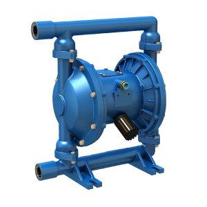 YGMP 气动隔膜泵 QBY-25 铝合金/丁腈膜片 流量0~2.4m3/h 扬程0~50m 进出口螺纹连接DN25 最大供气7kg 铝合金/丁腈膜片 1台